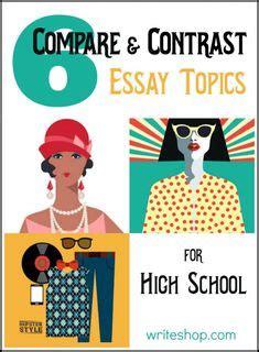 Comparison and Contrast Essay Examples College Cram